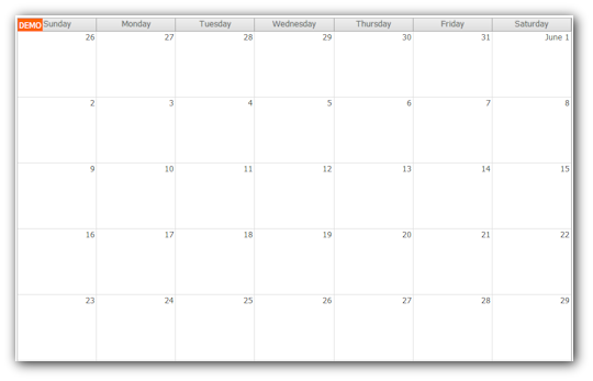 Weekly Calendar Javascript : Daypilot for javascript html calendar scheduler and gantt