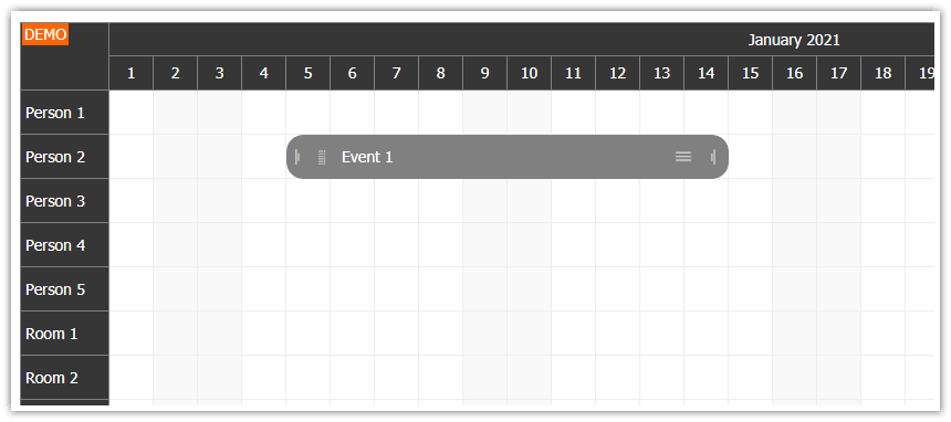 html5 scheduler for touch devices ipad iphone android