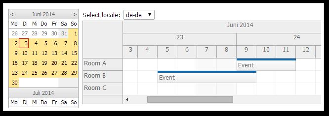 JavaScript Scheduler | DayPilot for JavaScript - HTML5 Calendar