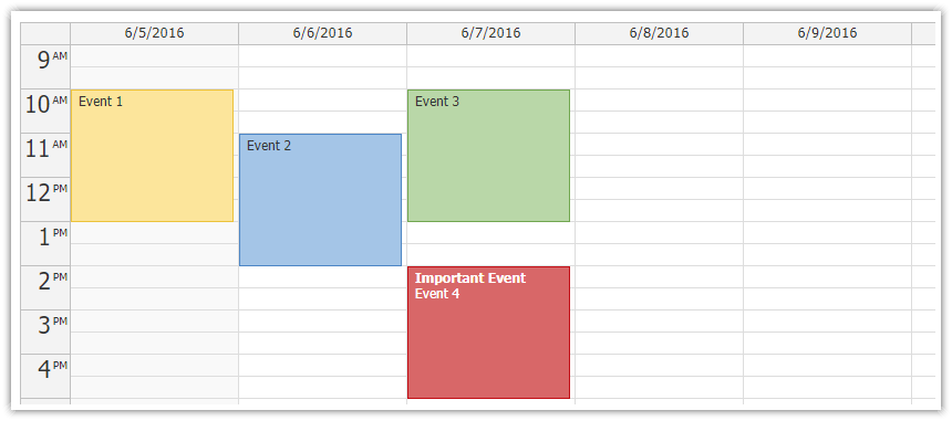 Monthly Calendar Using Javascript : Open source daypilot for javascript html calendar