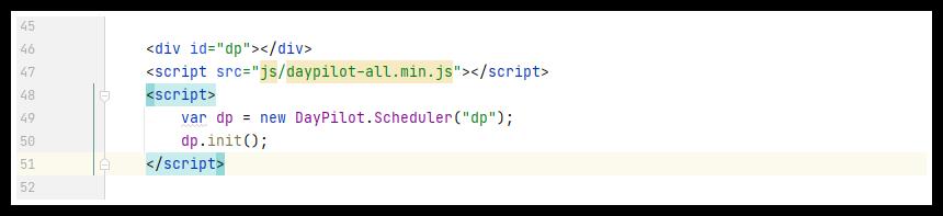 javascript scheduler rapid prototyping