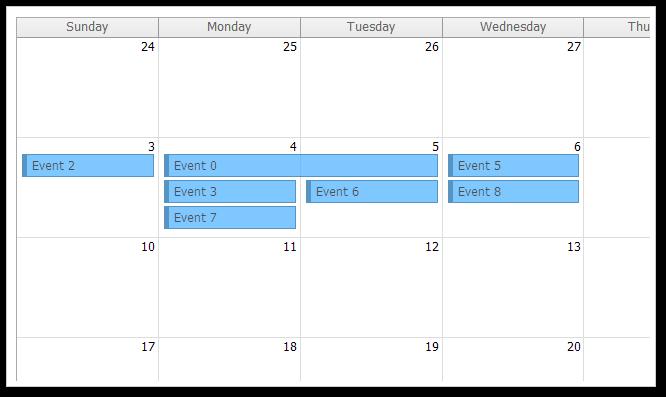 Open source daypilot for javascript html5 calendar scheduler event calendar javascript jquery html5 month transparent css saigontimesfo