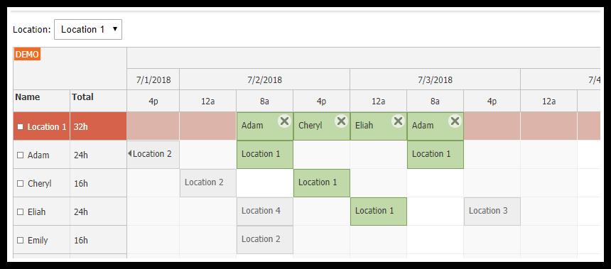 JavaScript Scheduler | DayPilot for JavaScript - HTML5