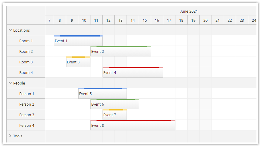 javascript html5 scheduler