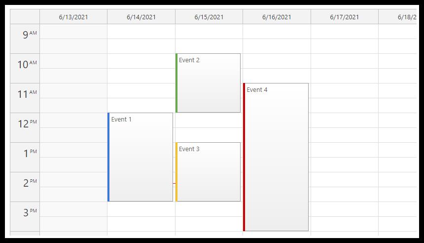 javascript html5 event calendar